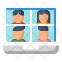 Assistance Conference Moniter Icon