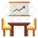 Office Room Meeting Room Factory Room Icon