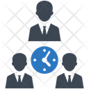 Meeting Time Teamwork Icon