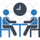 Meeting Time Business Meeting Meeting Icon