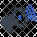 Bullhorn Megaphone News Icon