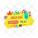 Mega Sale Icon
