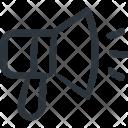Megaphone Announcement Branding Icon