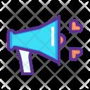 Megaphone Propose Declare Icon