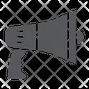 Megaphone Announcement Loudspeaker Icon