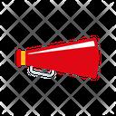 Megaphone Announcement Film Promotion Icon