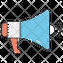 Megaphone Speaker Bullhorn Icon