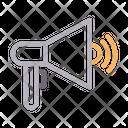 Megaphone Loud Announcement Icon