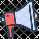 Seo Megaphone Loudspeaker Icon