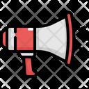 Megaphone Speaker Announcement Icon