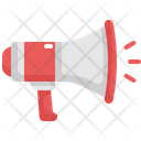 Megaphone Announcement Marketing Icon