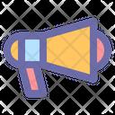 Megaphone Marketing Announce Icon