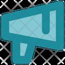 Social Media Megaphone Promotion Icon
