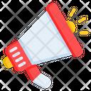Megaphone Advertising Announcement Icon