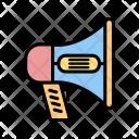 Megaphone Sound Speaking Icon