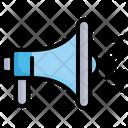 Megaphone Advertisement Speaker Icon
