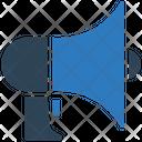 Megaphone Loud Speaker Hand Speaker Icon