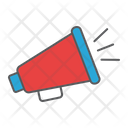 Megaphone Fake News Icon