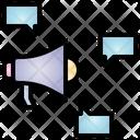 Megaphone Election Campaign Icon