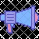 Megaphone Speaker Speech Icon