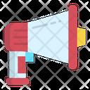 Megaphone Promotion Annoucement Icon