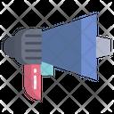 Megaphone Annoucement Warning Icon