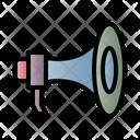 Megaphone Message Propaganda Icon