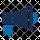 Megaphone Audio Noise Icon