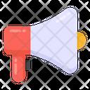 Campaign Megaphone Loudspeaker Icon