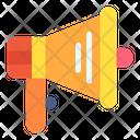 Megaphone Marketing Advertising Icon