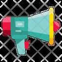 Megaphone Shout Protest Icon