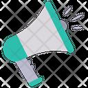 Megaphone Loud Speaker Icon