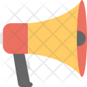 Megaphone Loudspeaker Loudhailer Icon