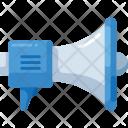 Megaphone Communication Announcement Icon