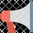 Megaphone Bullhorn Speaking Icon