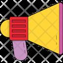 Megaphone Loudspeaker Bullhorn Icon