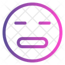 Meh Emoticon Cute Emoji Icon