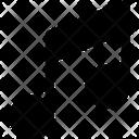 Multimedia Glyph Melody Tone Icon