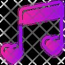 Valentine Day Melody Music Icon