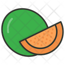 Melon Fruit Food Icon