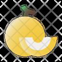 Melon Fruit Vitamins Icon