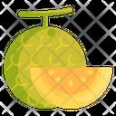 Melon Fruit Fresh Icon