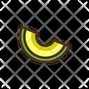 Melon Fresh Fruit Healthy Fruit Icon