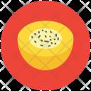 Melon Round Cantaloupe Icon