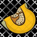 Yellow Melon Melon Fruit Icon