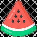 Fruit Melon Slice Watermelon Slice Icon