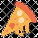 Melting Pizza Icon