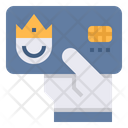 Member Card King Icon