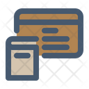 Membership Library Card Membercard Icon