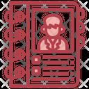 Membership Book Icon
